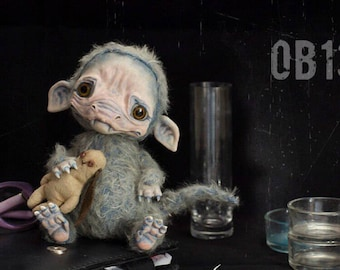 Object OB1307 Teddy Creature Monster Doll