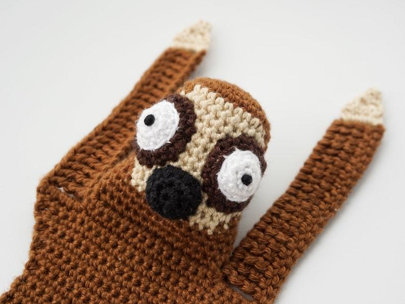 Sloth Bookmark Crochet Pattern  Amigurumi PDF Pattern image 0