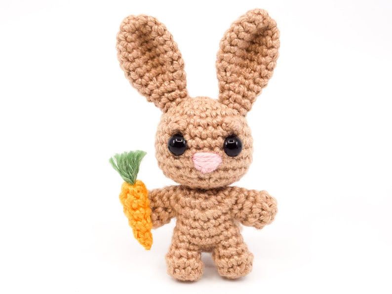 Mini Noso Bunny Crochet Pattern  Amigurumi PDF Pattern image 0
