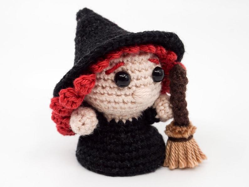 Mini Good Witches Crochet Pattern  Amigurumi PDF Pattern image 1