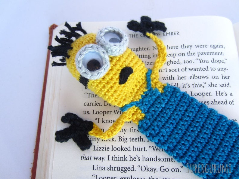 Amigurumi Crochet Minion Bookmark image 0