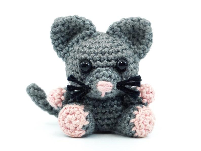 Mini Cat Crochet Pattern  Amigurumi PDF Pattern image 0