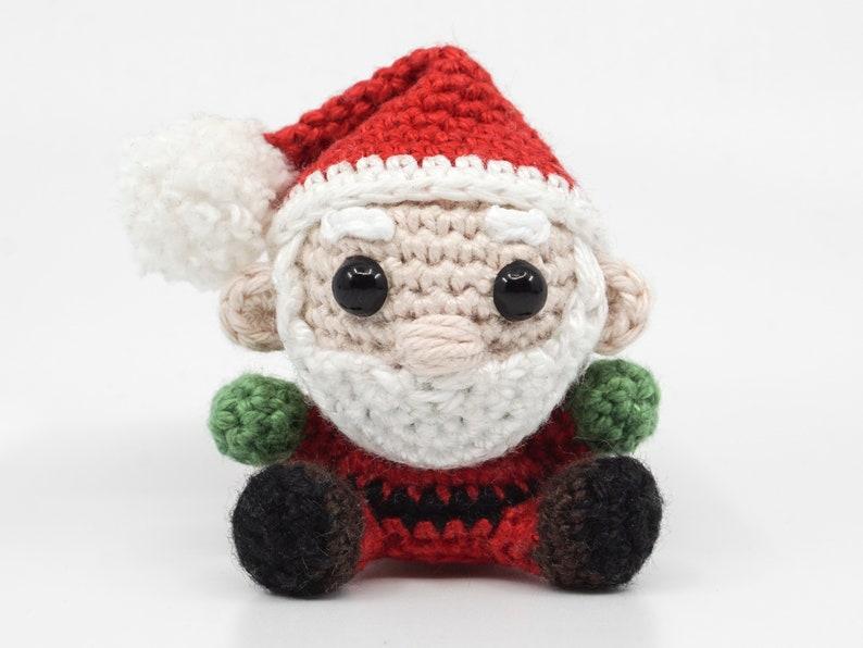 Mini Santa Claus Crochet Pattern  Amigurumi PDF Pattern image 0