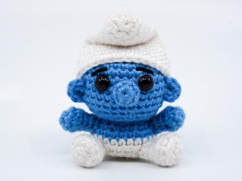 Mini Smurf Crochet Pattern  Amigurumi PDF Pattern image 0