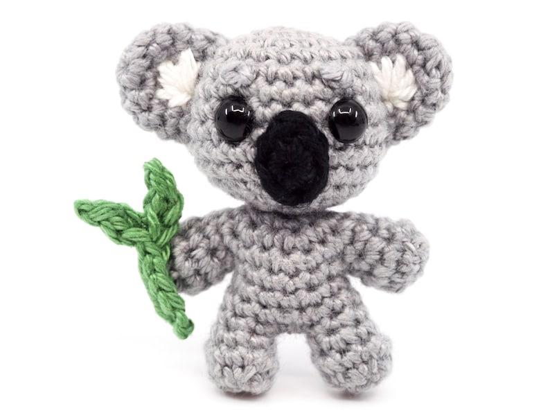 Mini Noso Koala Crochet Pattern  Amigurumi PDF Pattern image 0