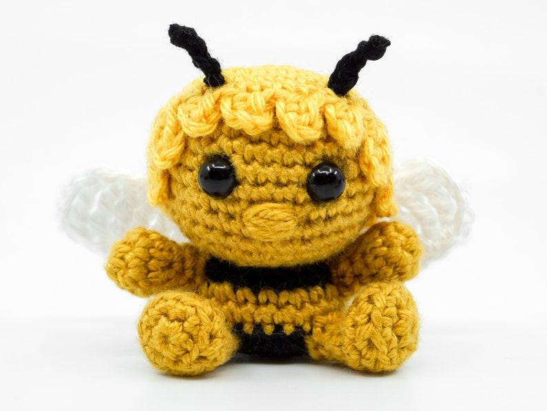 Mini Maya the Bee Crochet Pattern  Amigurumi PDF Pattern image 0