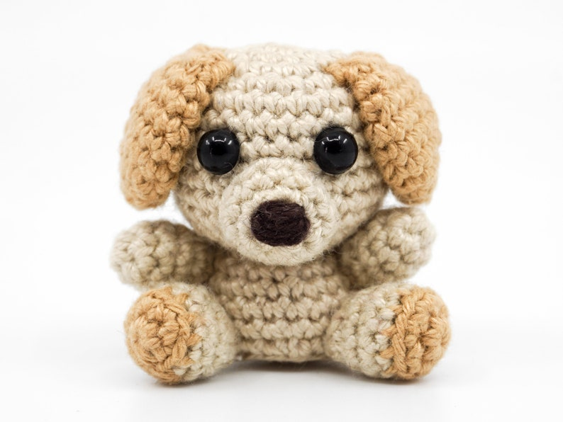 Mini Dog Crochet Pattern  Amigurumi PDF Pattern image 0