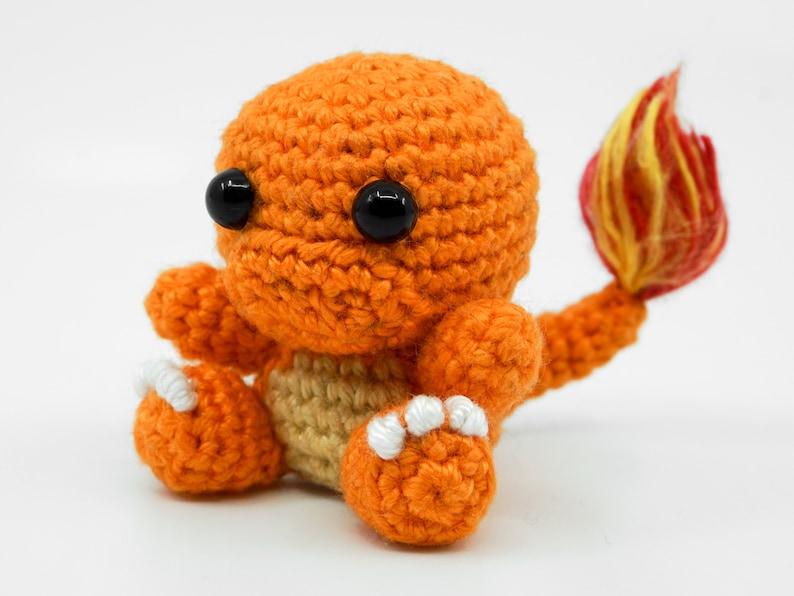 Mini Charmander Crochet Pattern  Amigurumi PDF Pattern image 0