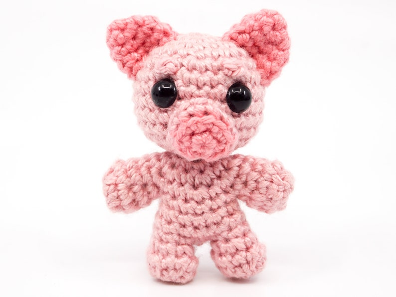 Mini Noso Pig Crochet Pattern  Amigurumi PDF Pattern image 0