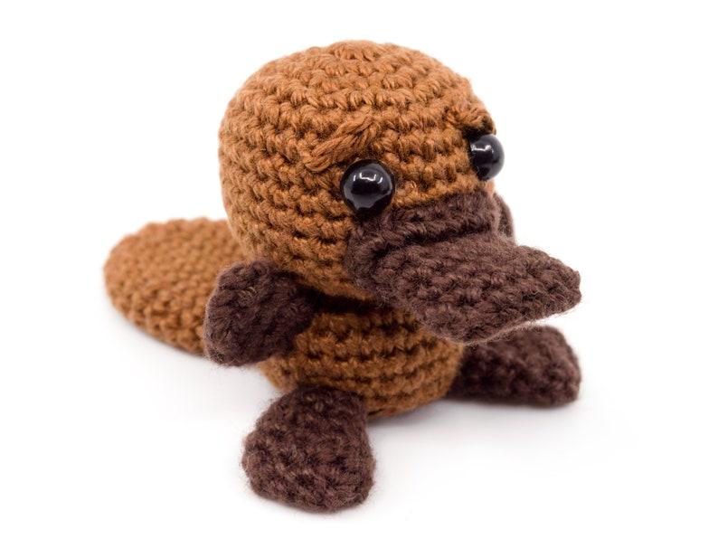 Mini Platypus Crochet Pattern  Amigurumi PDF Pattern image 0
