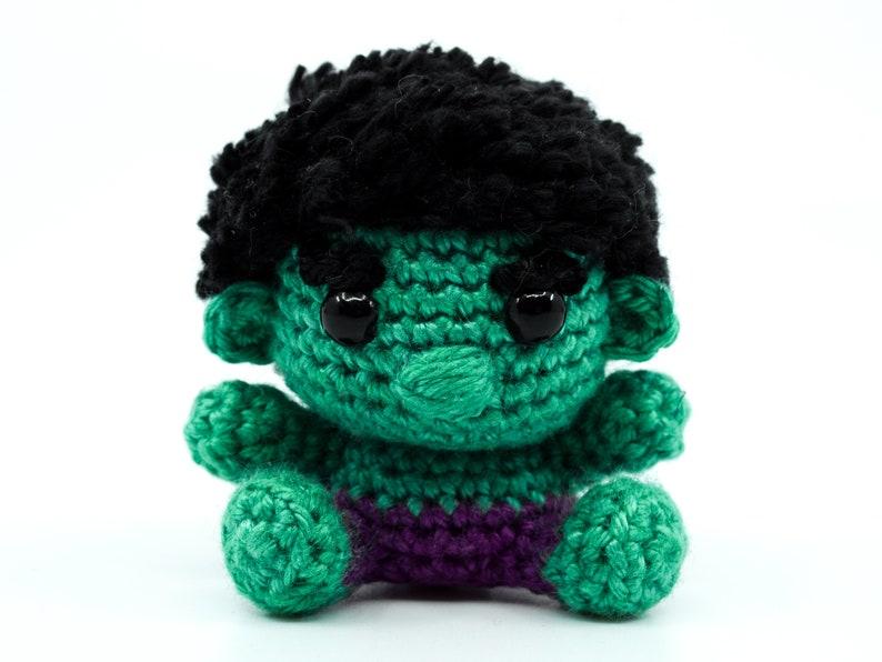 Mini Hulk Crochet Pattern  Amigurumi PDF Pattern image 0