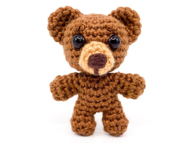 Mini Noso Bear Crochet Pattern  Amigurumi PDF Pattern image 0