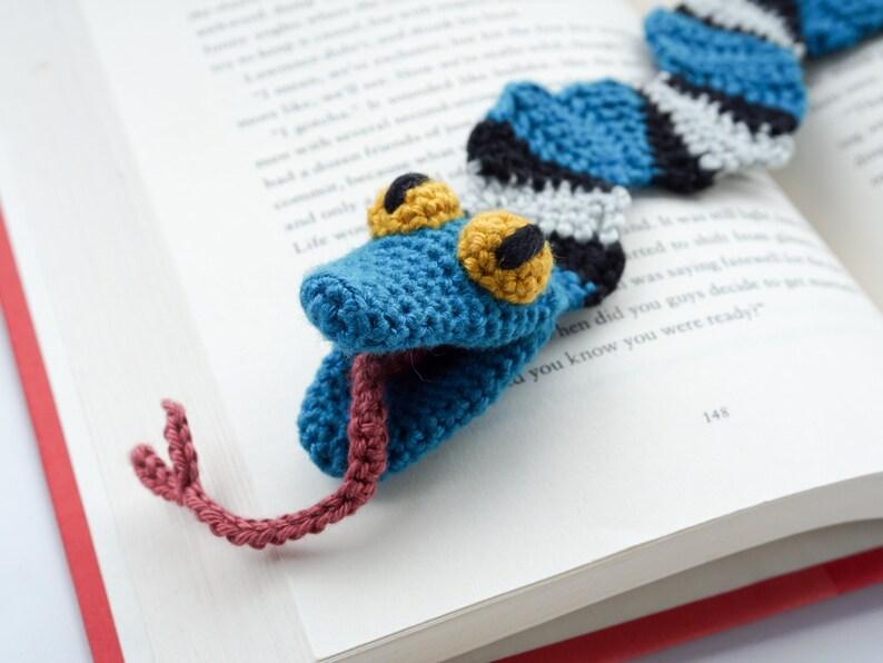 Snake Bookmark Crochet Pattern  Amigurumi PDF Pattern image 0
