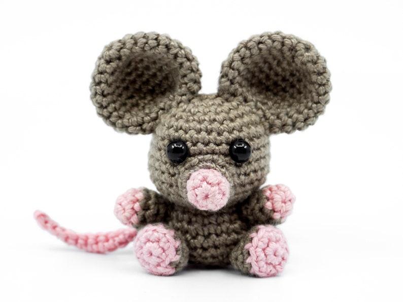 Mini Mouse Crochet Pattern  Amigurumi PDF Pattern image 0