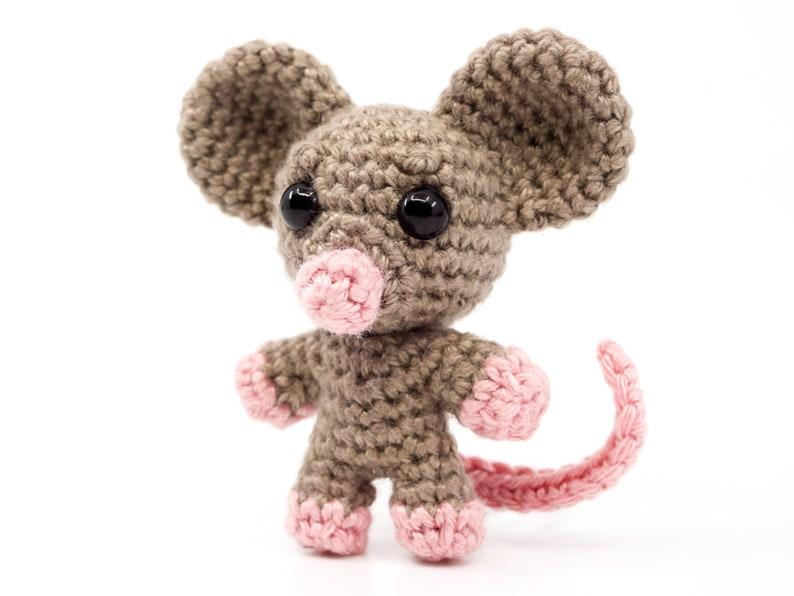 Mini Noso Mouse Crochet Pattern  Amigurumi PDF Pattern image 0