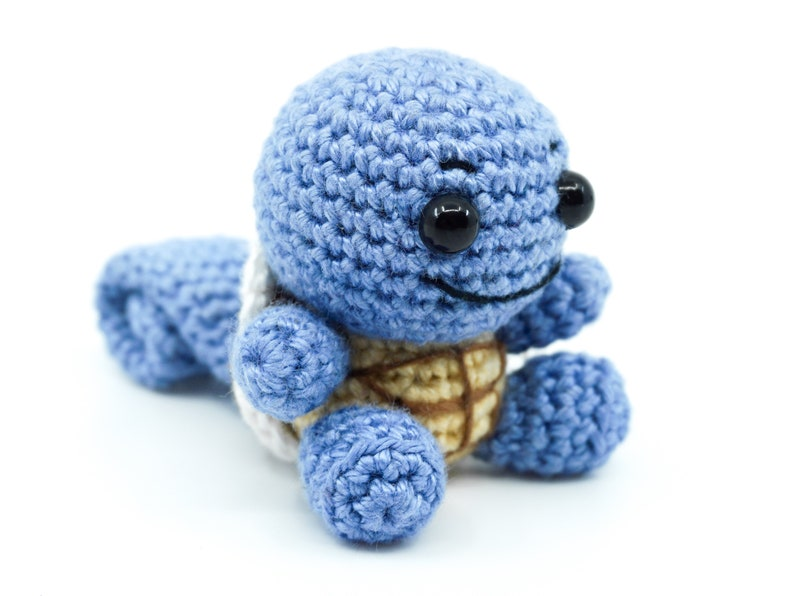 Mini Squirtle Crochet Pattern  Amigurumi PDF Pattern image 0