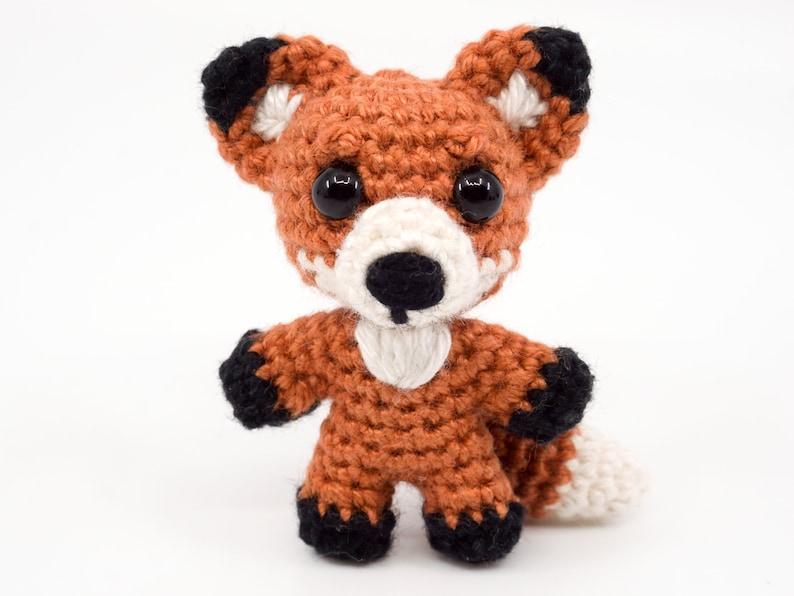 Mini Noso Fox Crochet Pattern  Amigurumi PDF Pattern image 0