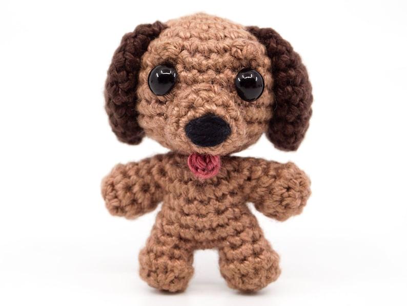 Mini Noso Dog Crochet Pattern  Amigurumi PDF Pattern image 1