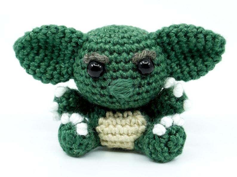 Mini Gremlin Crochet Pattern  Amigurumi PDF Pattern image 0