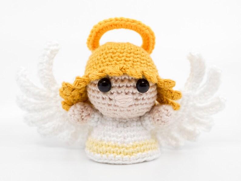 Mini Female Angel Crochet Pattern  Amigurumi PDF Pattern image 0