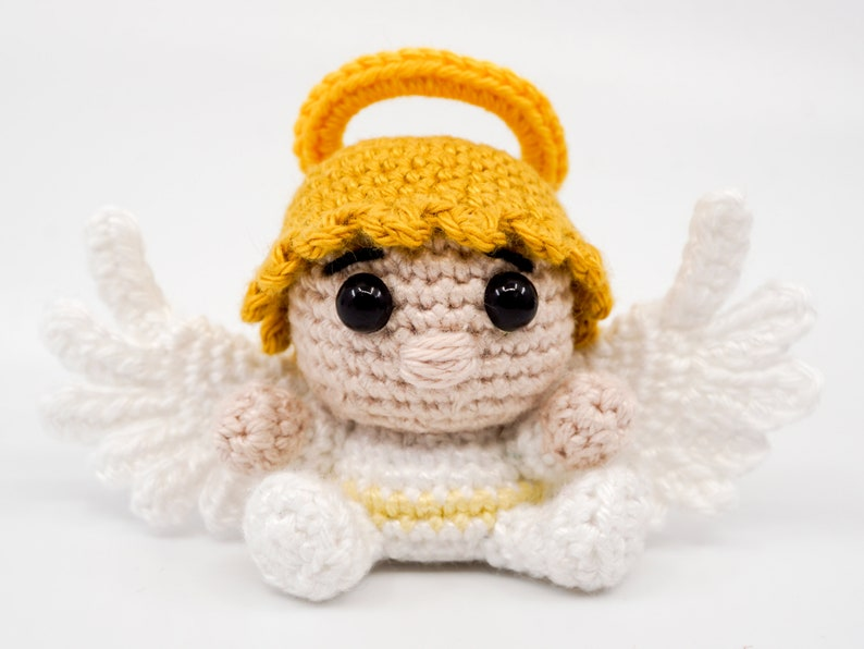 Mini Angel Crochet Pattern  Amigurumi PDF Pattern image 0