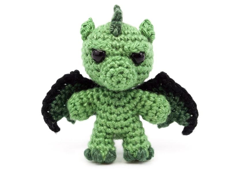 Mini Noso Dragons Crochet Pattern  Amigurumi PDF Pattern image 0