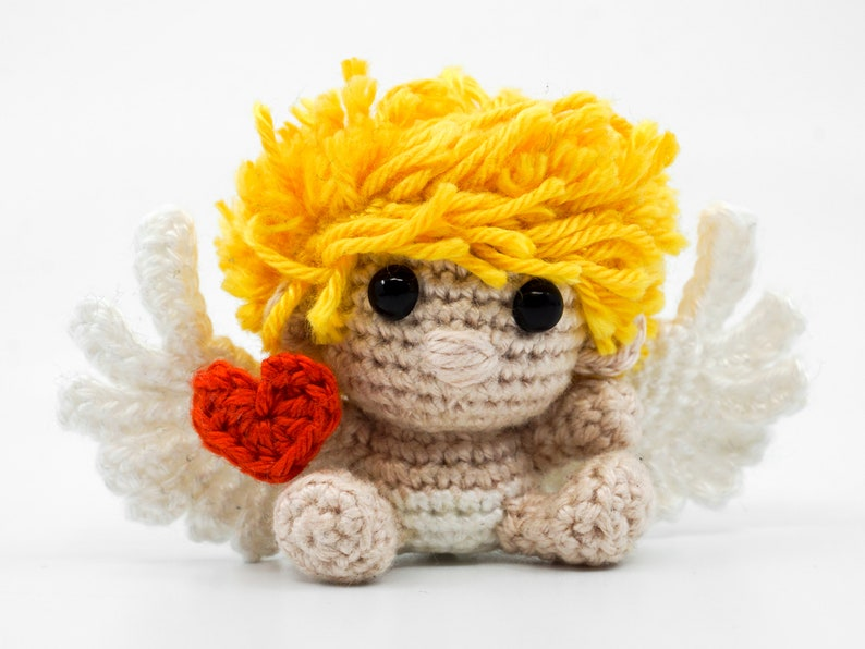 Mini Cupid Crochet Pattern  Amigurumi PDF Pattern image 0