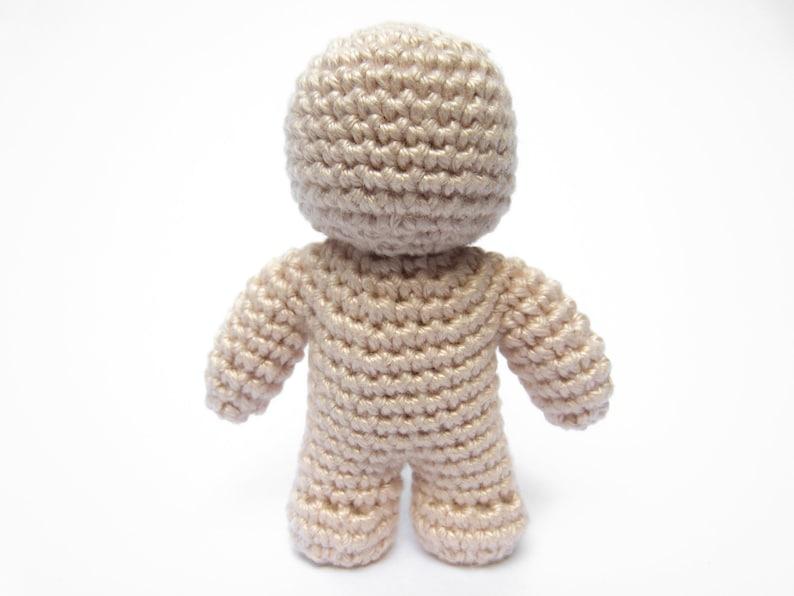 One Piece Crochet Doll  Amigurumi PDF Pattern image 0
