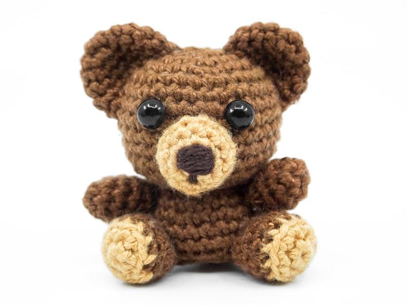 Mini Bear Crochet Pattern  Amigurumi PDF Pattern image 0