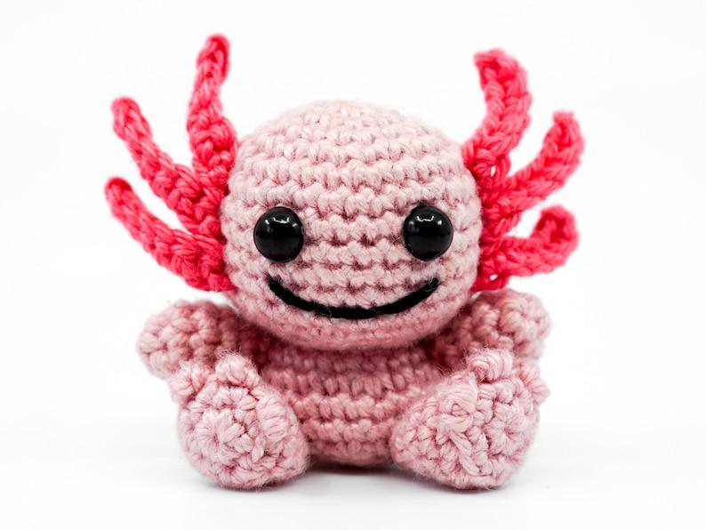 Mini Axolotl Crochet Pattern  Amigurumi PDF Pattern image 0