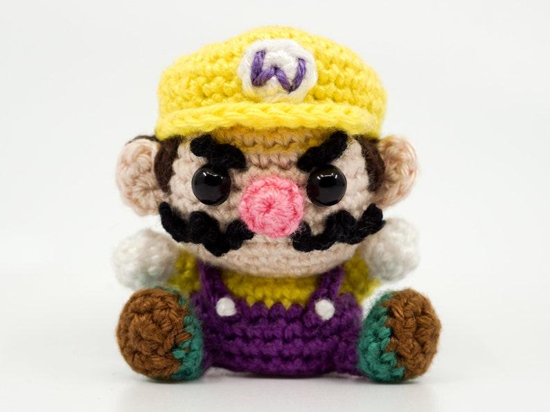 Mini Wario Crochet Pattern  Amigurumi PDF Pattern image 0