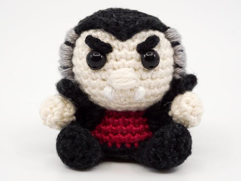 Mini Vampire Crochet Pattern  Amigurumi PDF Pattern image 1