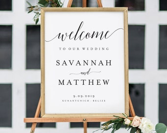 Wedding Welcome Sign.Welcome Wedding Sign Etsy