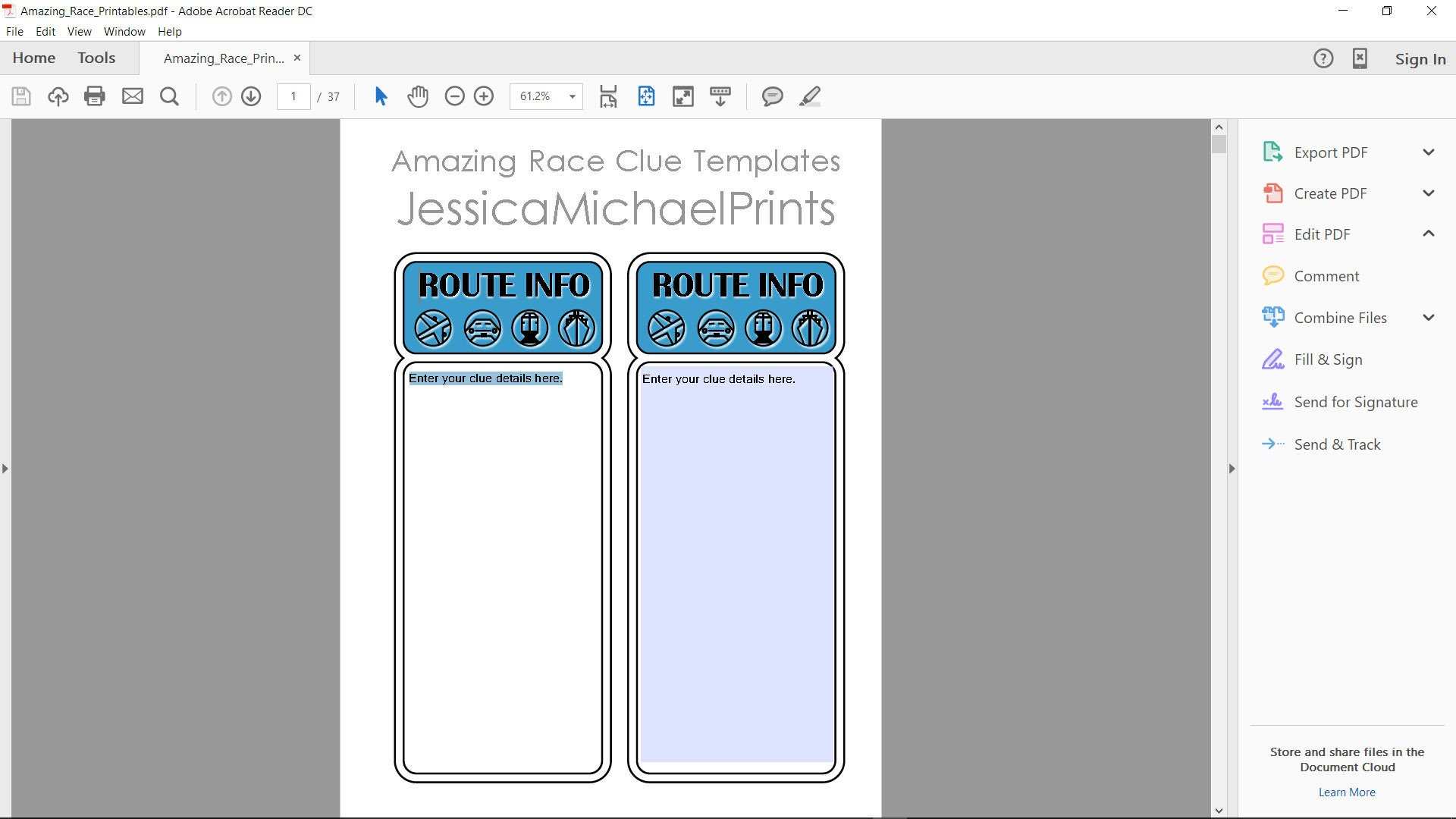 Amazing race templates pdf topsimages limited time the amazing race party printables digital etsy jpg 1920x1080 amazing race templates pdf maxwellsz