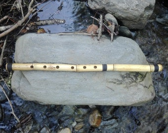 KAWALA flute in D (this is the note that sounds when you close all holes).