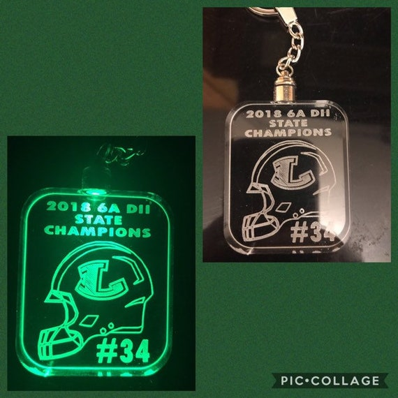 Fully Customizable Lite-Up Keychain
