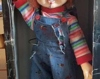 c3cf0b279f Spencer Gifts The Bride Of Chucky Chucky Doll With Sound