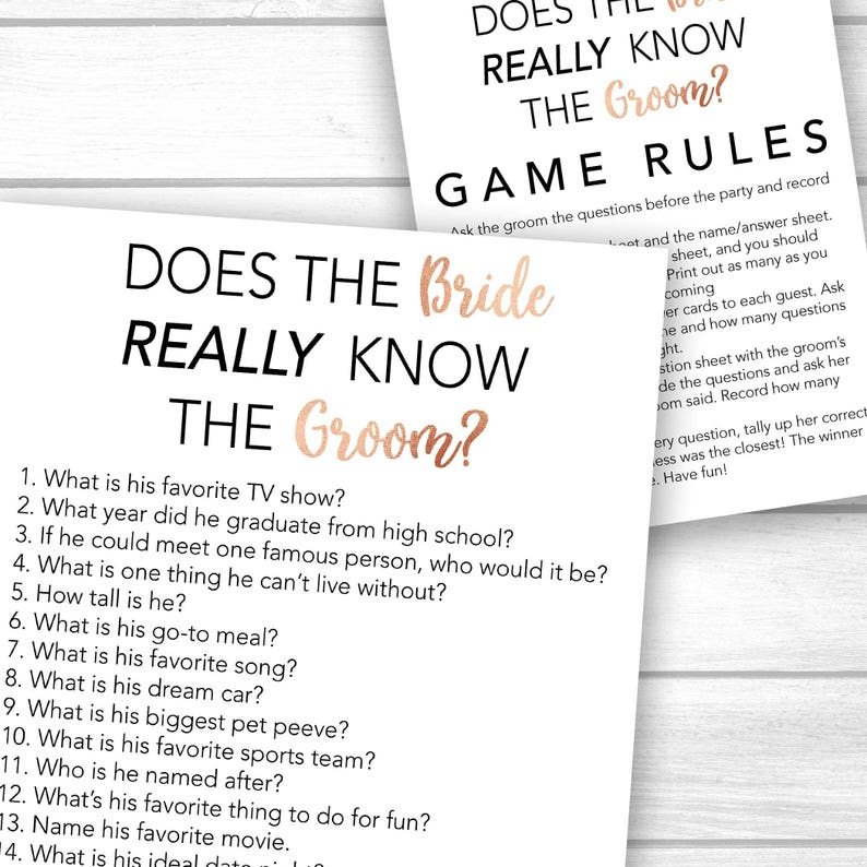 Questions to ask groom about bride game