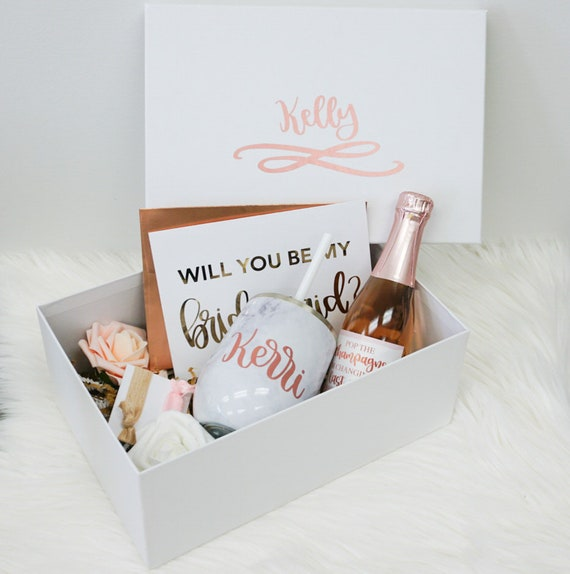 Will You Be My Bridesmaid Proposal Box Will You Be My
