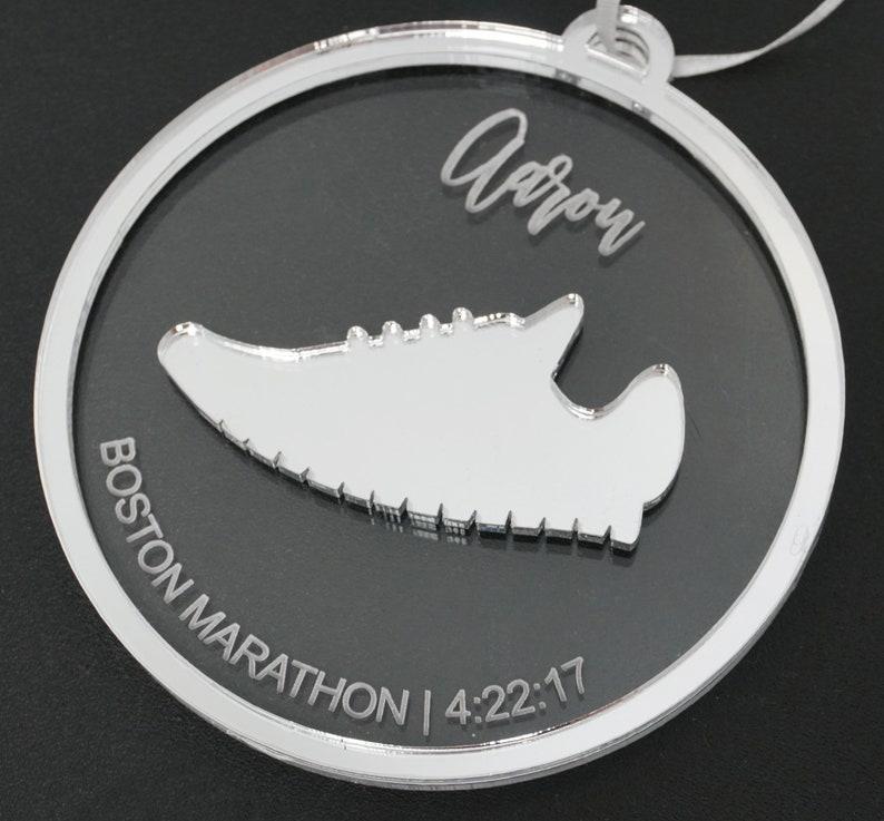 Personalized Runner Ornament Marathon Christmas Ornament ...