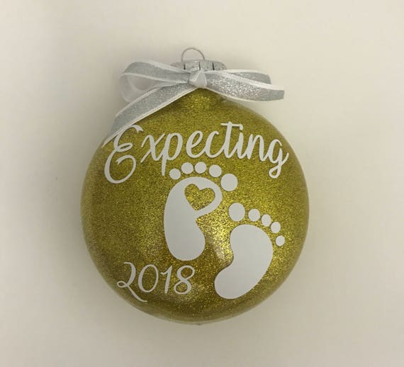 Expecting Christmas Ornaments.Expecting Ornament Expecting Baby Ornament Baby Ornaments Expecting Ornament Christmas Ornaments Pregnancy Announcement