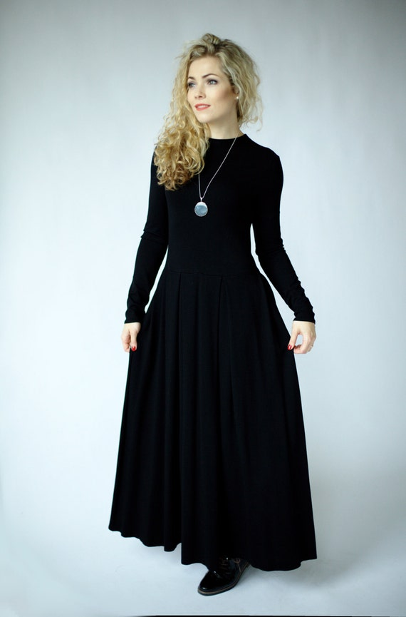 Maxi Dress With Sleeves Special Occasion Womens Dresses Maxi Etsy