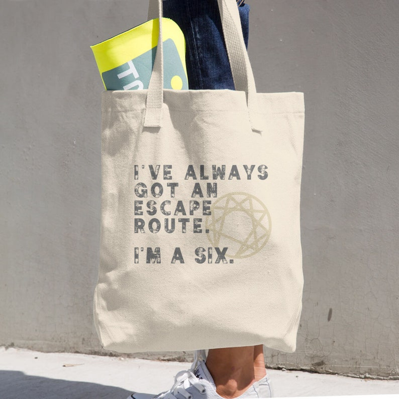 Enneagram Personality Types Funny Enneagram Tote Bag Enneagram Anyone? Ennegram Six Enneagram Type 6 Type Six The Loyalist