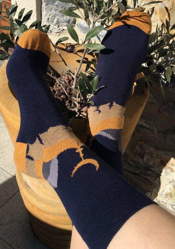 size UK 7-11  Euro 41-45  US 10-12 gift for men Men/'s /'Bitcoin/' socks