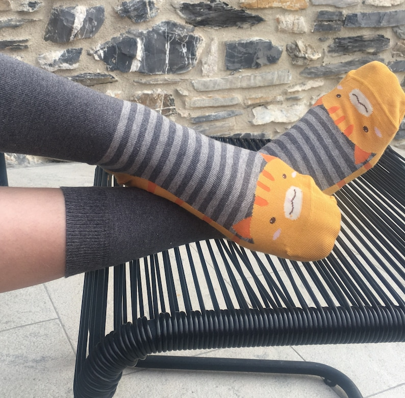 Women/'s High Quality Cotton Rich Funky Animals Socks Size 4-7 3 for £9