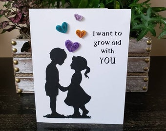 20206 Personalized Can/'t Wait To Grow Old With You Wedding Guestbook