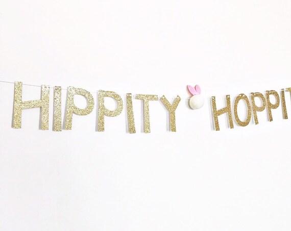Hippity Hoppity Banner