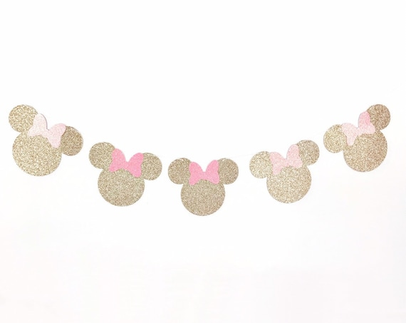 Minnie Mouse Banner / Minnie Mouse Garland / Oh TWOdles Banner / Minnie Mouse Birthday / Minnie Mouse Decorations / 1st Birthday Banner