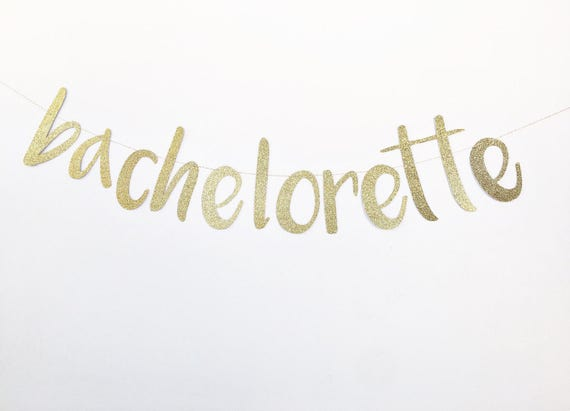 Bachelorette Banner / Bachelorette Party Decorations / Bride To Be Banner / Miss To Mrs / Bridal Decorations / Bachelorette Sign