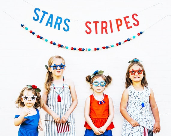 Stars & Stripes Banner for 4th of July